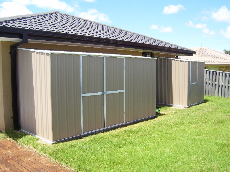 skillion flat roof sheds a1 garden sheds