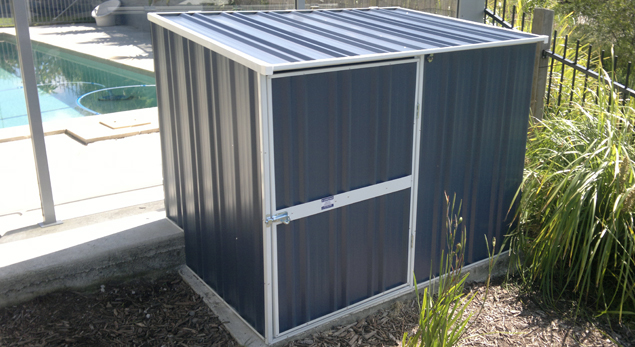 Garden Sheds Gold Coast: Custom sheds and pump covers